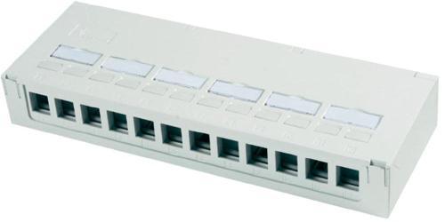 Panel krosowy dla szaf rack 10 - Akcesoria do szaf teleinformatycznych 10